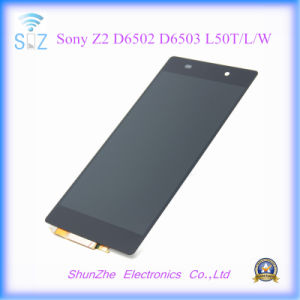 Mobile Smart Cell Phone Touch Screen LCD for Sony Z2 D6502 D6503 L50t/L/W pictures & photos