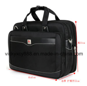 "Super Big Capacity 17"" Inch Business Computer Bag Briefcase (CY8908) pictures & photos"
