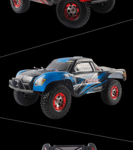 1/12 Scale 2.4G Electric 4WD High Speed RC Truck