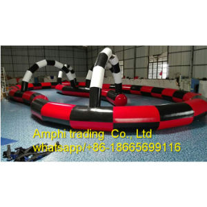 Inflatable Go Karts Racer Track for Sale