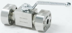 Carbon Steel Ball Valve with SAE-Flanges pictures & photos