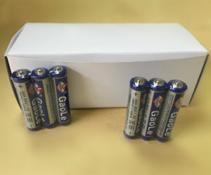 Super Heavy Duty AAA Size Dry Battery (R03) pictures & photos