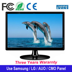 "18.5 Inch LED Monitor Desktop Display Screen 18.5"" Display Widescreen HD LCD LED pictures & photos"