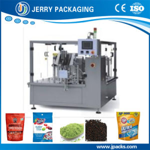 Seasoning Bag Given Filling Packing Machine for Flat & Stand-up Pouches pictures & photos