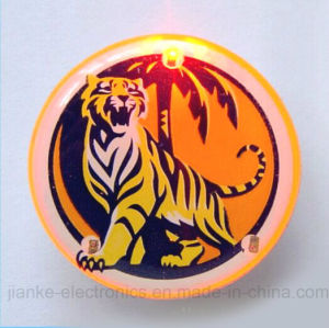 LED Light Flash Lapel Pin Badges with Customized Design (3161)