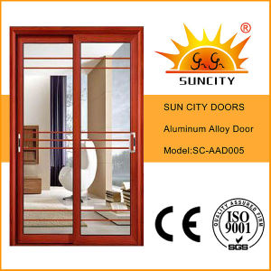 Aluminium Interior Door with Grill Sc-Aad005 pictures & photos