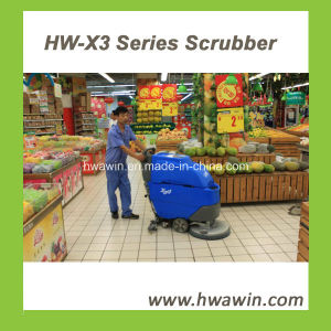 Commercial Walk Behind Vacuum Cleaner Floor Scrubber pictures & photos