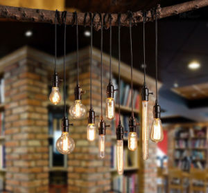half off 3368d 204a5 Retro Vintage Edison Bulb Pendant Light Industrial Cafe Shop Window  Filament Pendant Lamp Decoration