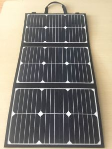 Flexible 18V 40W Foldable Solar Charger with Small Solar Panel pictures & photos
