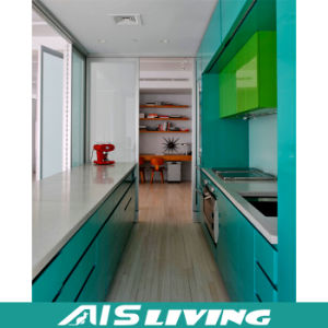 Double Colour Used Kitchen Cabinet Doors (AIS-K176)