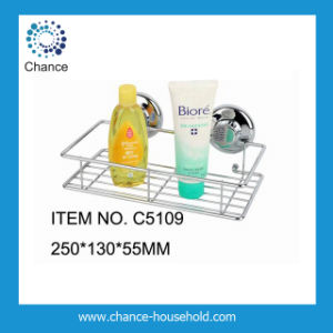 Suction Cup Caddy Rack for Bathroom (C5109)
