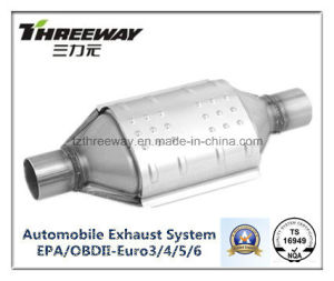 Car Exhaust System Three-Way Catalytic Converter #Twcat003 pictures & photos