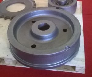 Resin Sand Casting, Casting Parts, Flywheel Casting Parts, Cnh Agriculture Machinery Parts pictures & photos