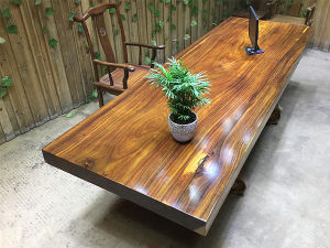 Solid Natural African Rose Wood Dining Table Sd 001