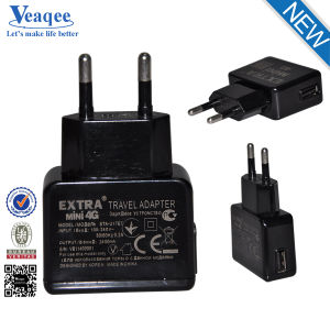 2.1A EU Plug Single USB Wall Charger
