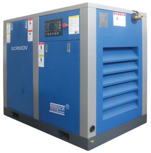 Variable Speed Driven Rotary/Screw Air Compressor (SCR75DV Series) pictures & photos