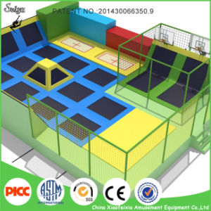 Big Trampoline Park with High Quality pictures & photos