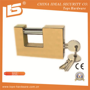 High Quality Brass Rectangle Padlock (BSU) pictures & photos