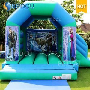 Popular Inflatable Frozen Princess Jumping Bouncy Castle Inflatable Bouncer