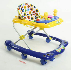2018 New Model Simple Baby Walker with Toys pictures & photos