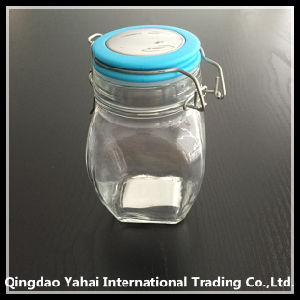 320ml Oval Glass Storage Jar