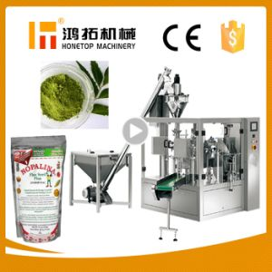 Hot Selling Automatic Senna Leaves Powder Pouch Packing Machine pictures & photos