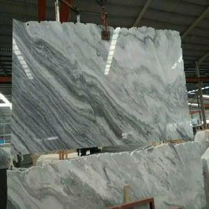 Polished Grey Marble Slab for Wall/Floor/Bathroom Tiles/Countertops/Vanity Top