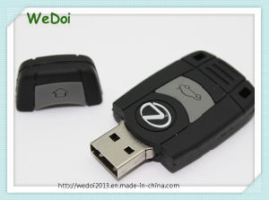 Customized Car Key PVC USB Pen Drive for Promotion (WY-PV33) pictures & photos