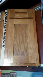 Veneer Oak Face Frame Cabinet Shaker Door Kitchen Cabinets Made In China