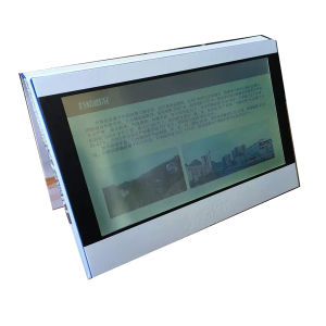 Touch Screen Video Invitation Cards with 10inch LCD pictures & photos