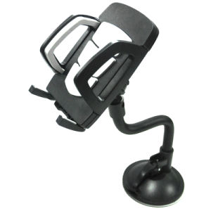 PVC Universal Car Mount Clip Sucker Phone Holder with GPS