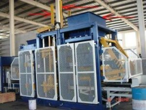 Middle East Popular Block Machine Line, Fully Automatic Module pictures & photos