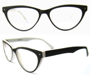 High Quality Cat Eye Fashion Cp Injection Eyewear for Lady