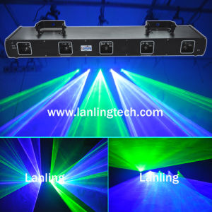 5 Heads Professional Laser Light / DJ Laser Light (L26554) pictures & photos