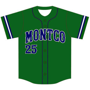 Custom Design Sublimated Baseball Jersey for Team pictures & photos