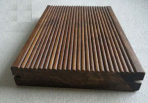 No Slip Waterproof Outdoor Walnut Strand Woven Bamboo Flooring pictures & photos