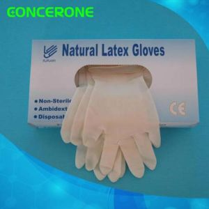 Latex Examination Glove with Competitive Price pictures & photos