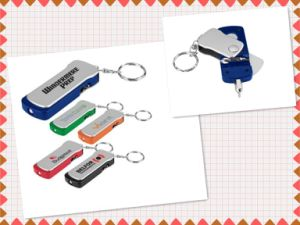 Travel Tool Flashlight Key Tag (GD483)