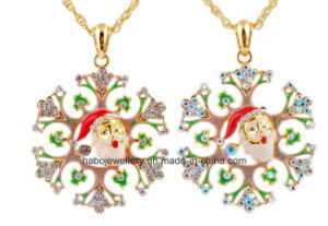 Christmas Jewelry/Christmas Necklace/Christmas Snow (XJW13331) pictures & photos