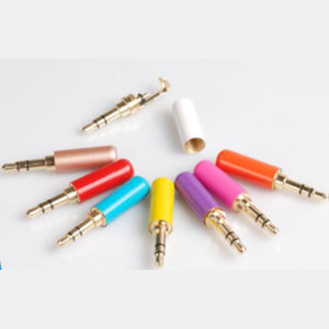 Colorful Mini 3.5mm Jack Audio Connector Adapter Headphone Plug pictures & photos