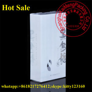 White Color Printed Pet Plastic Vanity Box Wholesale