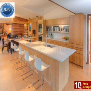 High Gloss Customized Kitchen Cabinet PVC Kitchen Cabinet
