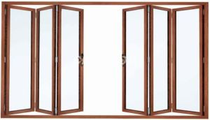 Aluminum Folding Door with High Quality