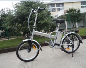 250W Big Power Fat Tire Folding Electric Bike pictures & photos