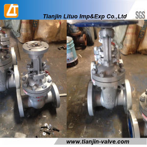 Ghigh Quality Dn100 Russian Standard Wcb Gate Valve Manufacturer in China pictures & photos