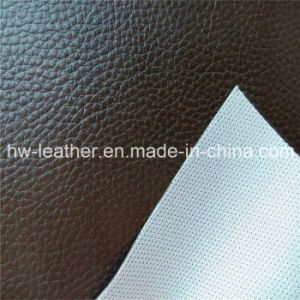 Lychee PVC Synthetic Leather For Furniture Hw 658