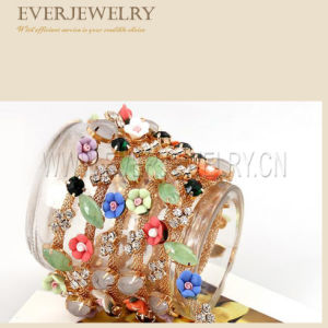 Flower Crystal Rhinestone Cup Chain Trimming pictures & photos