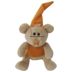 Promotiaonal Brown Halloween Teddy Bear Toys Stuffed (LE-TB071608)