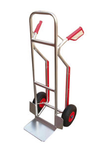 Aluminum Stair Climber Hand Truck Dolly Heavy Duty Ht2502 pictures & photos