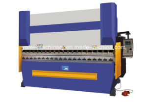 63tx2500mm CNC Hydraulic Press Brake on Carbon Steel Meta pictures & photos